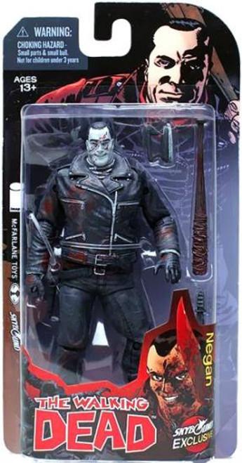 McFarlane Toys Walking Dead Comic Series 1 Negan Exclusive Action Figure [Black & White]