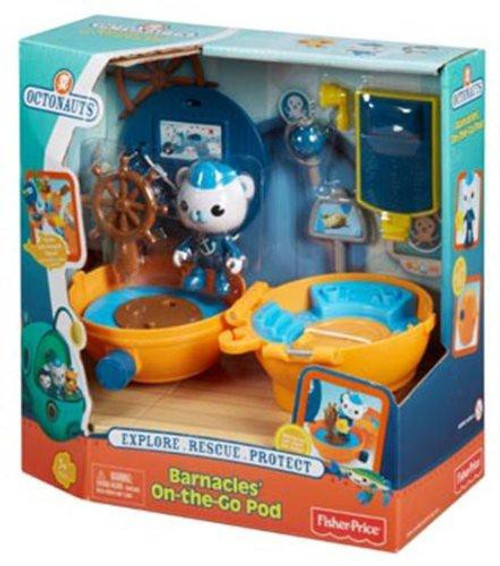 Fisher Price Octonauts Mission Vehicle Barnacles' On-the-Go Pod Playset