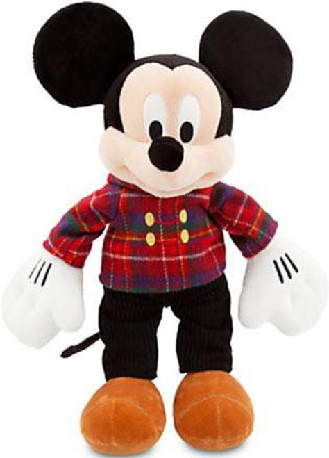 Disney Holiday Mickey Mouse Exclusive 17-Inch Plush [Plaid Jacket]