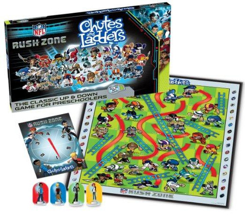 NFL National Football League Chutes & Ladders Board Game