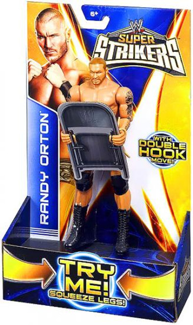 WWE Wrestling Super Strikers Randy Orton Action Figure