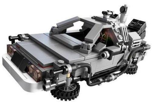 LEGO Back to the Future Delorean Loose Vehicle [Loose]