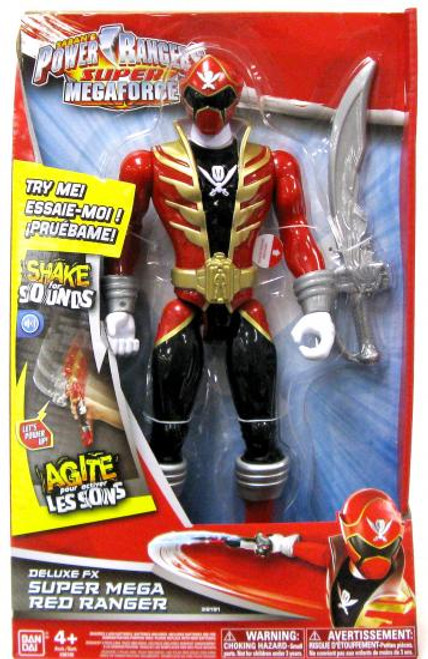 Power Rangers Super Megaforce Deluxe FX Super Mega Red Ranger Action Figure