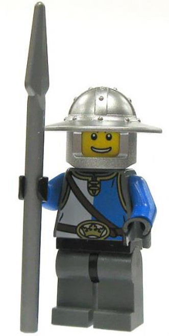 LEGO Castle Loose King's Knight Minifigure [Tabard Loose]