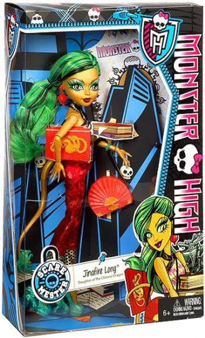 Monster High Scaremester Jinafire Long 10.5-Inch Doll