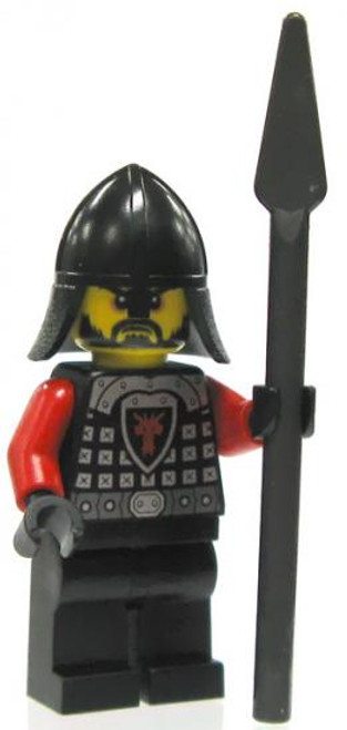 LEGO Castle Loose Dragon Soldier Minifigure [Spear Loose]
