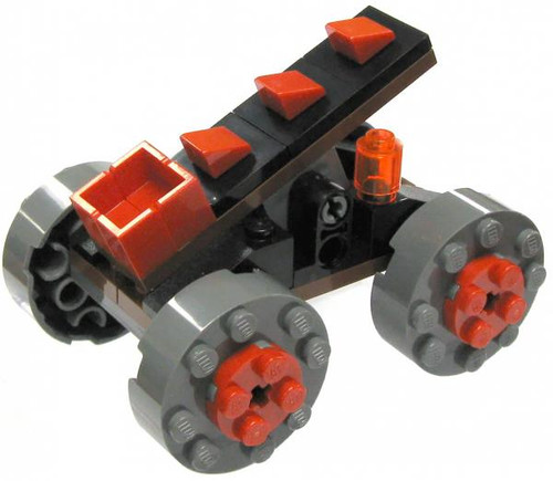 LEGO Castle Items Dragon Soldier Catapult [Loose]