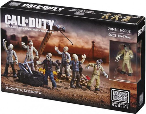 Mega Bloks Call of Duty Zombie Horde Set #06826