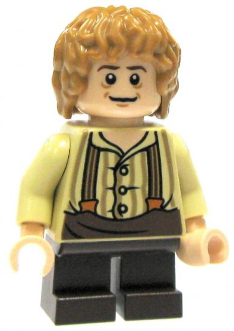 LEGO The Hobbit Loose Bilbo Baggins Minifigure [Tan Shirt & Suspenders Loose]