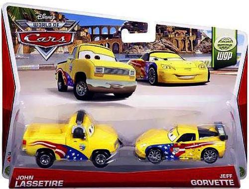 Disney Cars The World of Cars Series 2 John Lassetire & Jeff Gorvette Diecast Car