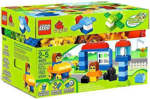 LEGO Duplo Build & Play Box Set #4629