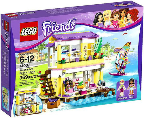 LEGO Friends Stephanie's Beach House Set #41037