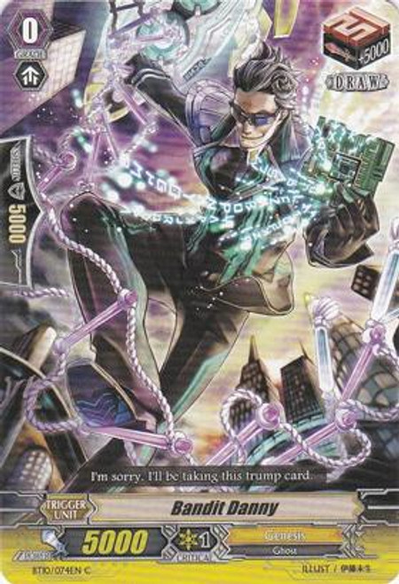 Cardfight Vanguard Triumphant Return of the King of Knights Common Bandit Danny BT10/074