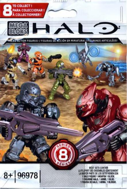 Mega Bloks Halo Series 8 Minifigure Mystery Pack #96978-8