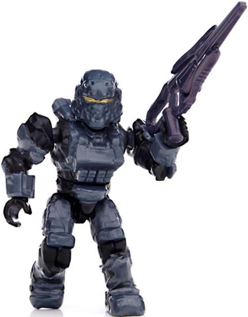 Mega Bloks Halo Series 8 Stealth Spartan 2-Inch Minifigure [Gray Loose]