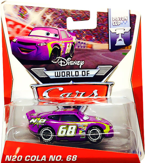 Disney Cars The World of Cars Series 2 N20 Cola No. 68 Diecast Car