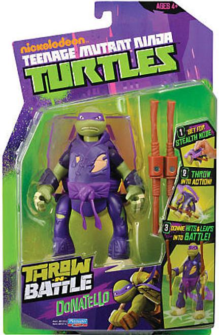 Teenage Mutant Ninja Turtles Nickelodeon Throw N Battle Donatello Action Figure