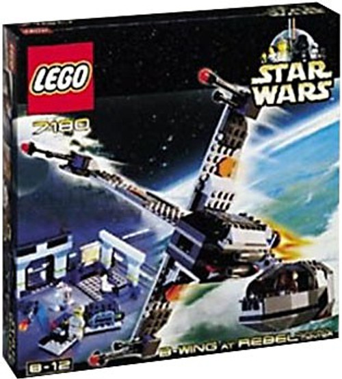 LEGO Star Wars Return of the Jedi B-Wing at Rebel Control Center Set #7180 [New]