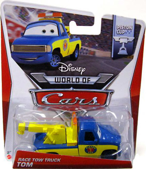 Disney Cars The World of Cars Series 2 Race Tow Truck Tom Diecast Car #4/16