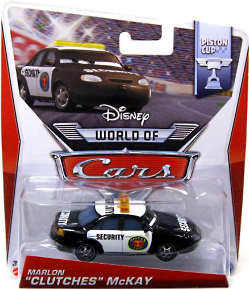 "Disney Cars The World of Cars Series 2 Marlon ""Clutches"" McKay Diecast Car #3/16"