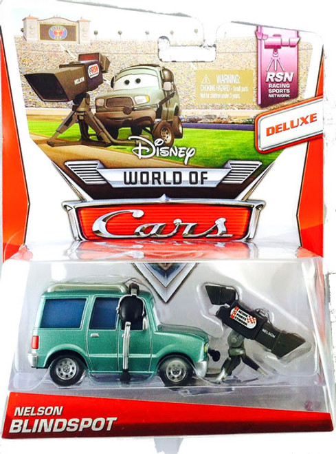 Disney Cars The World of Cars Series 2 Deluxe Nelson Blindspot Diecast Car #5/8