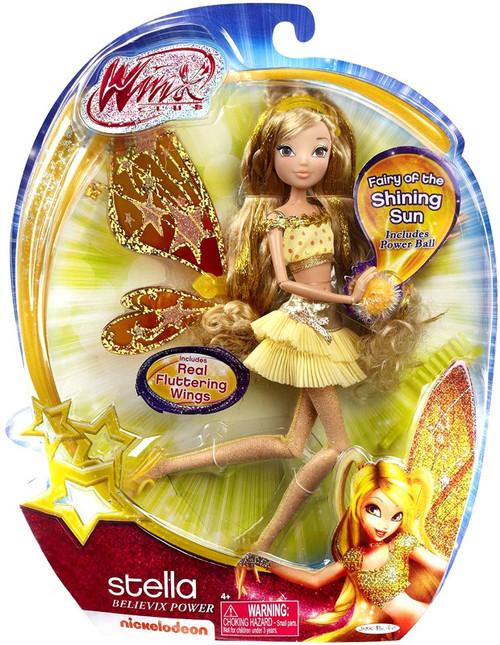 Winx Club Stella 11.5-Inch Doll [Believix Power]