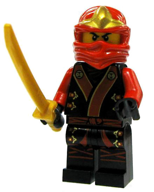 LEGO Ninjago Loose Kai Minifigure [Black & Red Garb Loose]