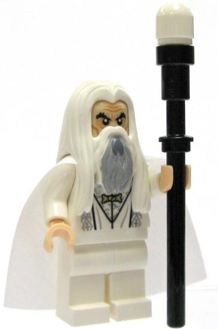 LEGO The Lord of the Rings Loose Saruman of Many Colors Minifigure [Loose]