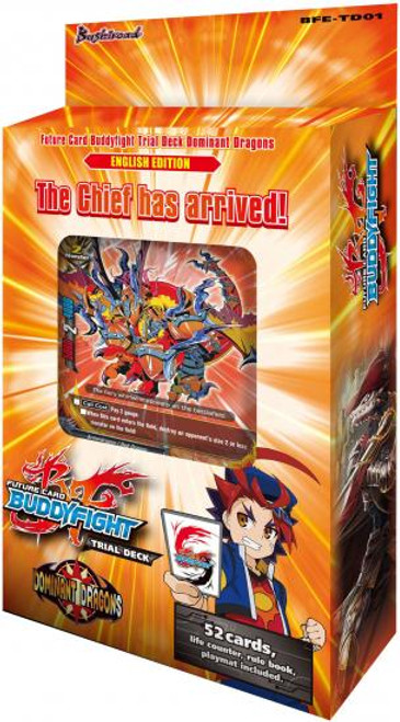 Future Card BuddyFight Dominant Dragons Trial Deck BFE-TD01