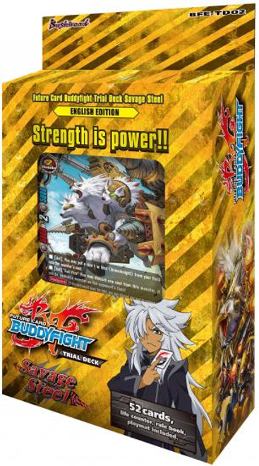 Future Card BuddyFight Savage Steel Trial Deck BFE-TD02