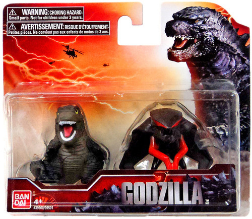 Godzilla 2014 Chibi Godzilla & Male MUTO Mini Figure 2-Pack