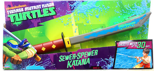 Teenage Mutant Ninja Turtles Nickelodeon Sewer-Spewer Katana Roleplay Toy