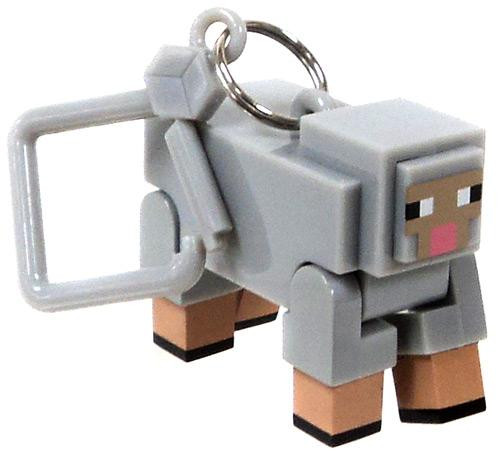 Minecraft Hangers Series 1 Sheep 3-Inch Keychain [Loose]