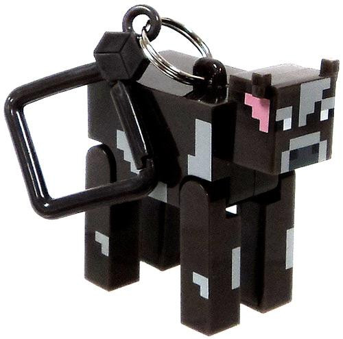 Minecraft Hangers Series 1 Cow 3-Inch Keychain [Loose]