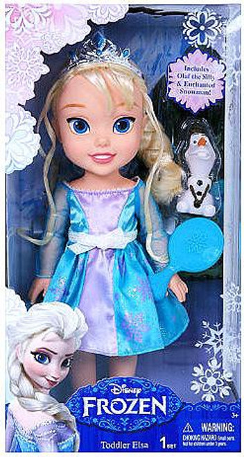 Disney Frozen Toddler Elsa 12-Inch Doll