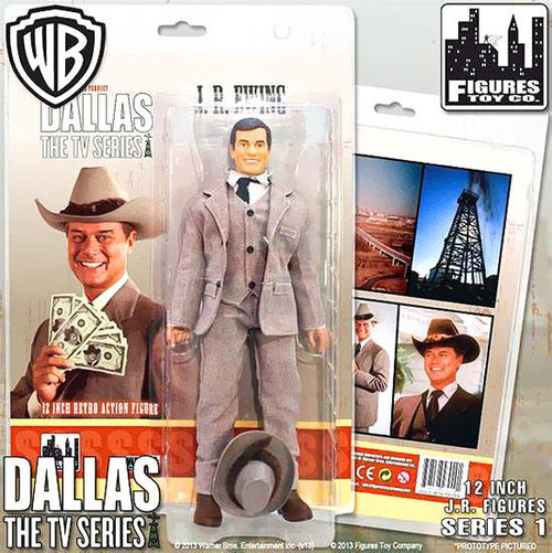 Dallas Series 1 J.R. Ewing 12 Inch Action Figure [Oil Tycoon]