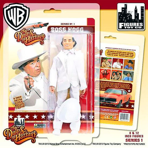 The Dukes of Hazzard Series 1 Boss Hogg Action Figure