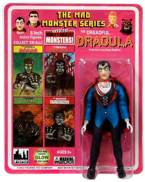 The Mad Monster Series The Dreadful Dracula Action Figure