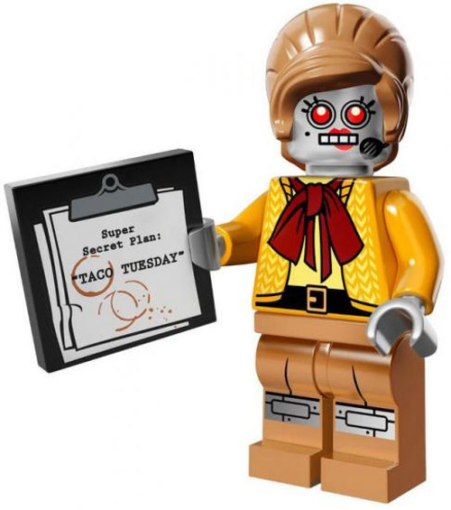 The LEGO Movie Loose Velma Staplebot Minifigure [Loose]