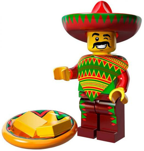 The LEGO Movie Loose Taco Tuesday Guy Minifigure [Loose]