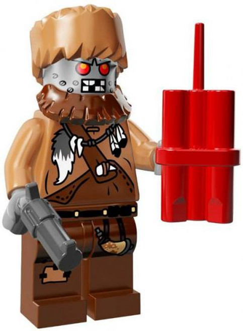The LEGO Movie Loose Wiley Fusebot Minifigure [Loose]