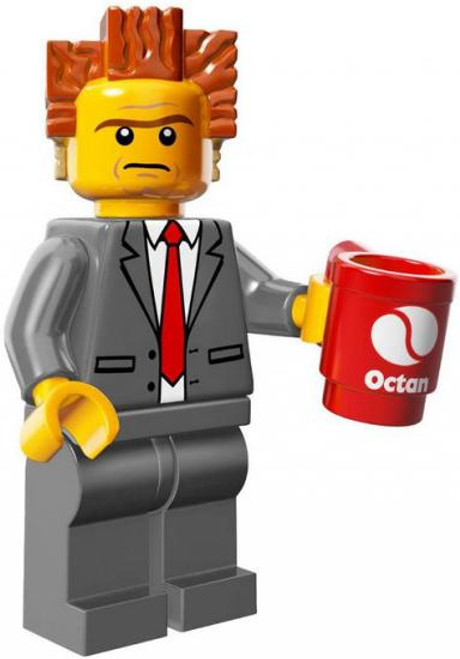 The LEGO Movie Loose President Business Minifigure [with Mug Loose]
