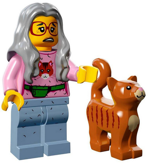 The LEGO Movie Loose Mrs. Scratchen-Post Minifigure [Loose]