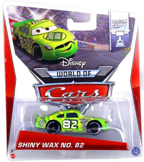 Disney Cars The World of Cars Series 2 Shiny Wax No. 82 Diecast Car #3/16