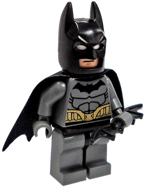 LEGO DC Universe Super Heroes Loose Batman Minifigure [Gray Loose]