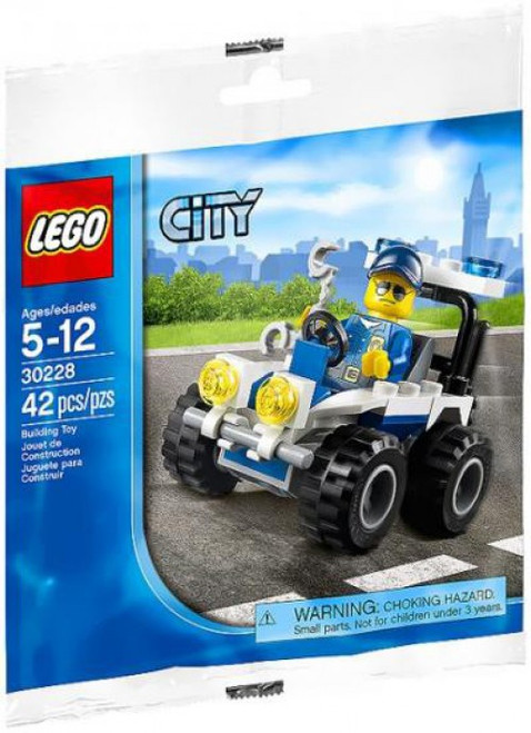 LEGO City Police ATV Mini Set #30228 [Bagged]