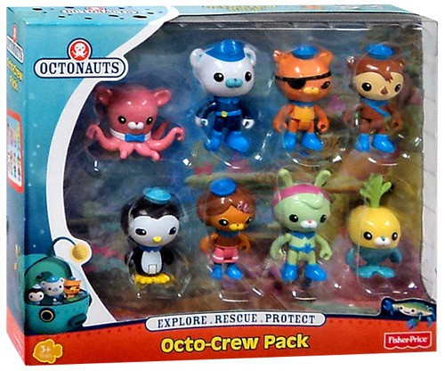 Fisher Price Octonauts Octo-Crew Pack Figure Set