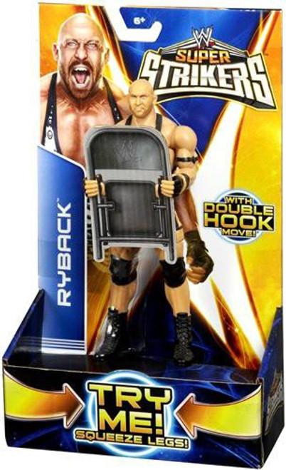 WWE Wrestling Super Strikers Ryback Action Figure