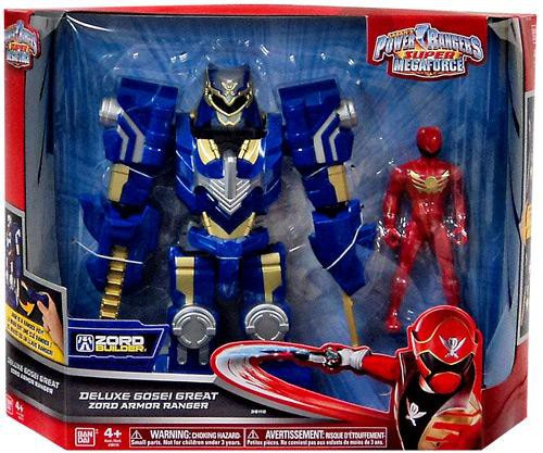 Power Rangers Super Megaforce Zord Builder Deluxe Gosei Great Zord Armor Ranger Action Figure