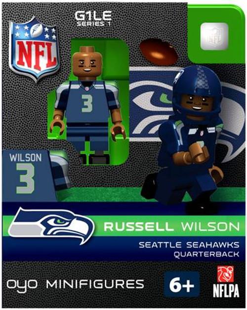 Seattle Seahawks NFL Generation 1 Series 1 Russell Wilson Minifigure